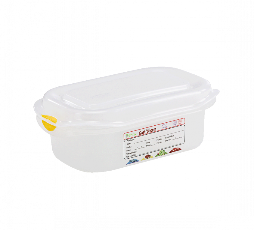 Air-Tight Gastronox Container 1/9 h 6cm 0.6lt