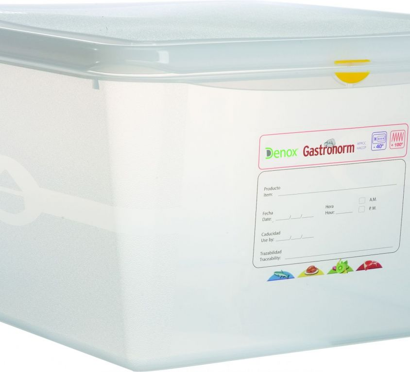 Air-Tight Gastronox Container 2/3 h20cm 19lt