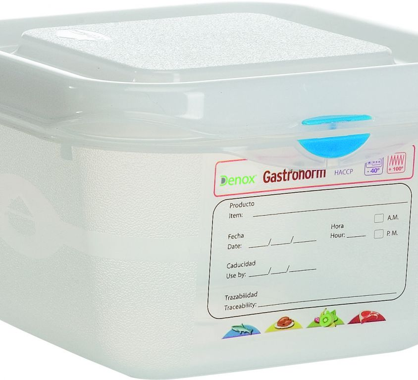 Air-Tight Gastronox Container 1/6 h10cm 1.7lt
