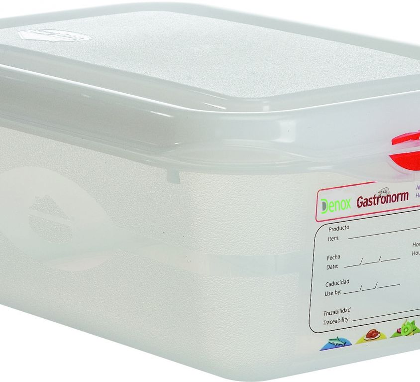 Air-Tight Gastronox Container 1/4 h10cm 2.8lt