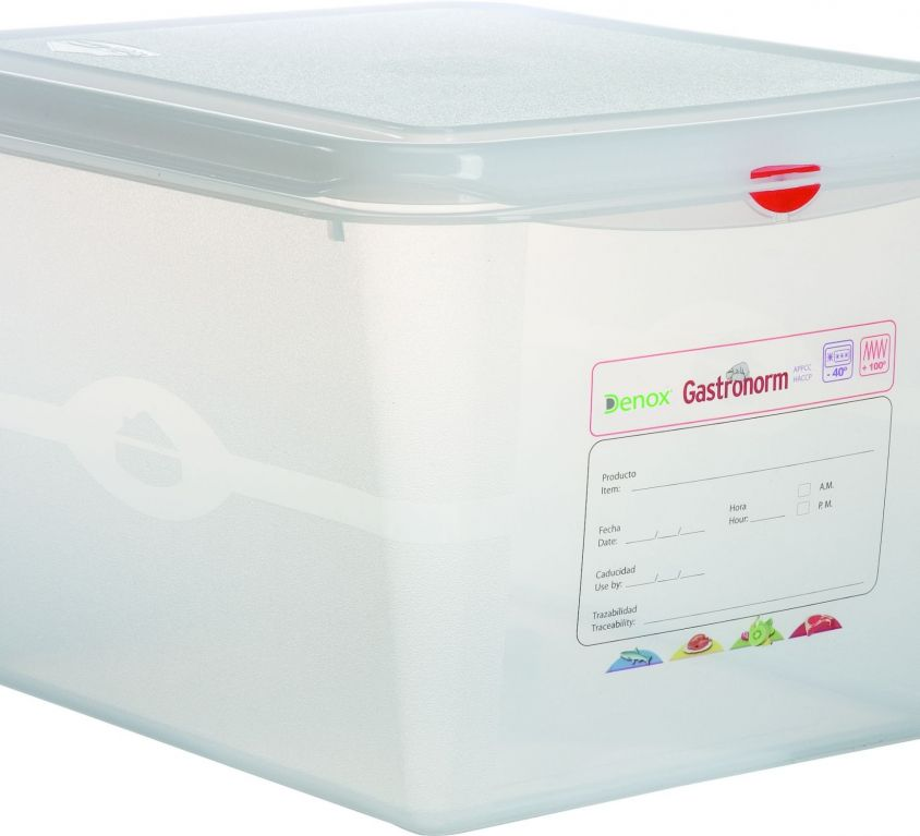 Air-Tight Gastronox Container 1/2 h20cm 12.5lt
